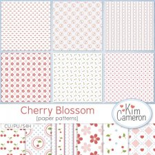 Cherry Blossom Patterns by Kim Cameron