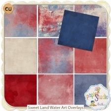 Sweet Land Water Art Overlays EXCLUSIVE by Papierstudio Silke