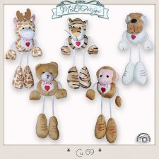 CU set 69 Animals Zoo by MLDesigns