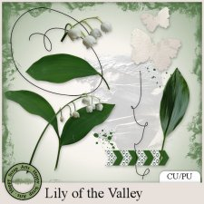 Lily of the Valley elements by Happy Scrap Arts