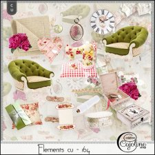 Elements CU - 164 Home Sewing Decor by Cajoline-Scrap
