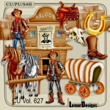 CU Vol 627 Wild wild West