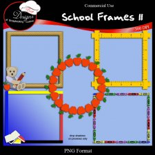 School Frames II by Boop Designs
