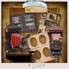 CU set 102 Photography vintage by MLDesigns