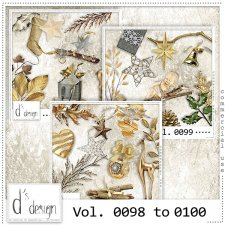 Vol. 0098 to 0100 - Christmas Mix by Doudou's Design