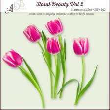 Floral Beauty Elements Vol. 02 by ADB Designs
