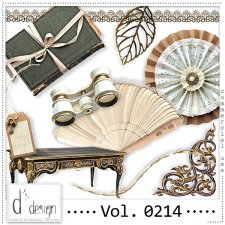 Vol. 0214 - Vintage Mix by Doudou's Design