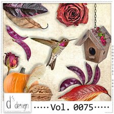 Vol. 0075 Autumn Nature Mix by Doudou Design