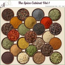 Spice Cabinet Vol 1 by ADB Designs