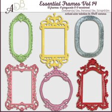 Essential Frames Vol 14 by ADB Designs