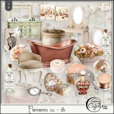 Elements CU - 181 Bath Home Decor by Cajoline-Scrap