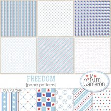 Freedom Pattern Templates by Kim Cameron