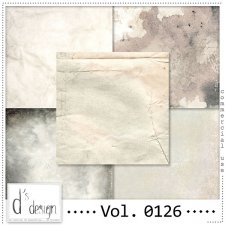 Vol. 0126 Vintage papers by Doudou's Design