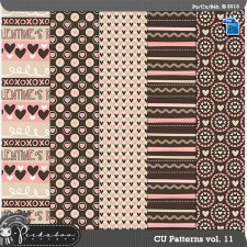 Love Pattern Template Paper vol 11 by Peek a Boo Designs