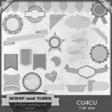 Designer Basic Templates 2 CU4CU by Scrap and Tubes