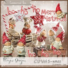 CU vol 5 Christmas by Florju Designs