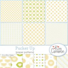 Pucker Up Pattern Template by Kim Cameron