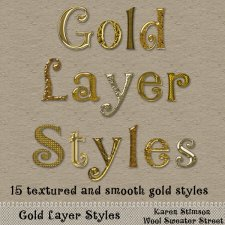 Gold Layer Styles by Karen Stimson