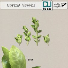 Spring Greens - CUbyDay EXCLUSIVE