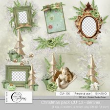 Christmas pack CU 13 - derivative by Cajoline-Scrap