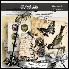 CU vol 226 Mix pack by Florju Designs