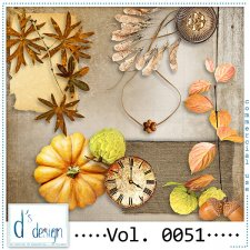 Vol. 0051 - Autumn Mix by Doudou's Design