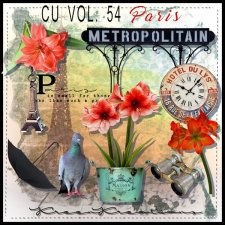 CU Vol. 54 Paris by Kreen Kreations