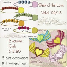 Action - Week Of The Love by Rose.li