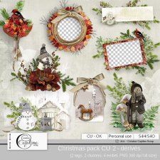 Christmas pack CU 2 - derivative by Cajoline-Scrap