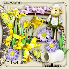 CU Vol 490 Summer Flowers by Lemur Designs