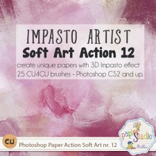 Action Soft Art 12 - Impasto Artist by PapierStudio Silke