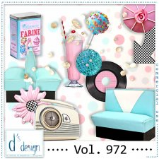 Vol. 972 - Fifties Mix by Doudou's Design