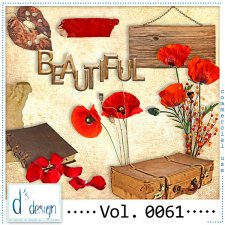 Vol. 0060 to 0064 Autumn Mix by Doudou Design