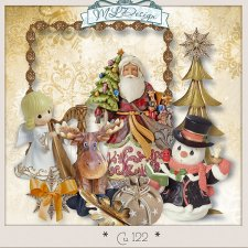 Cu Set 122 Christmas by MLDesign