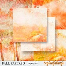 Fall Papers 3 by Reginafalango