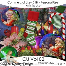 Christmas Mix - CU Vol 2 by MagicalReality Designs