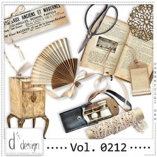 Vol. 0212 - Vintage Mix by Doudou's Design