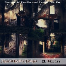 Abandoned Landscapes {SET 1} - CU Vol 188 by MagicalReality Designs