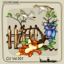 CU Vol 501 Animals by Lemur Designs