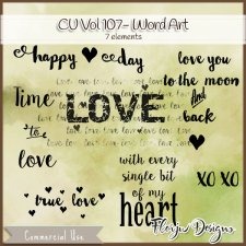 CU vol 107 Wa Love by Florju Designs