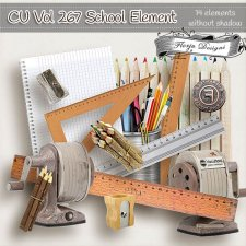 CU vol 267 School Elements by Florju Designs