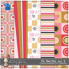 Overlay Pattern Templates vol 4 by Peek a Boo Designs