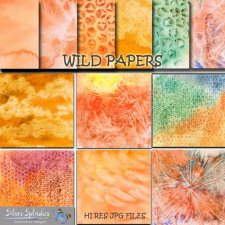 EXCLUSIVE Wild Papers by Silver Splashes