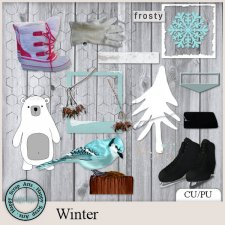 EXCLUSIVE Winter 1 kit by Happy Scrap Arts