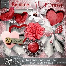 Designer Stash Vol 165 - Sweet Valentine No. 2 by Feli Designs