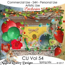 Spring Mix - CU Vol 54 EXCLUSIVE by MagicalReality Designs