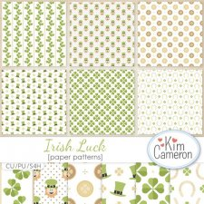 Irish Luck Patterns by Kim Cameron