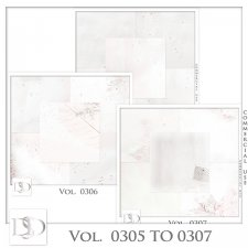 Vol. 0305 to 0307 Christmas Papers by Doudou Design
