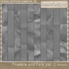 Crumple & Fold Vol 1 REMIX