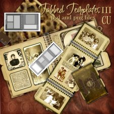 Tabbed Templates SET3 by Cari Lopez